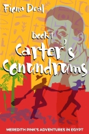 An image of the cover of the Fiona Deal book, Carter's Conundrums