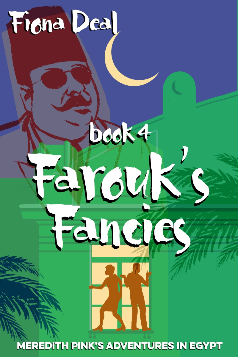 An image of the cover of the Fiona Deal book, Farouk's Fancies.
