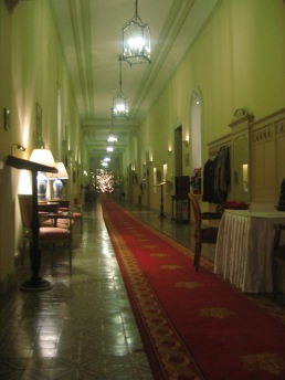 Corridor in The Winter Palace Hotel, Luxor
