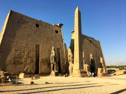 Forecourt, Luxor Temple