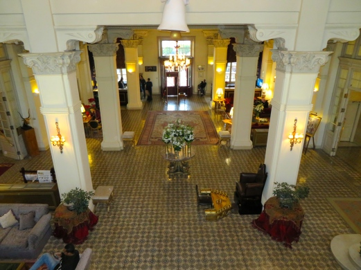 The Lobby of The Winter Palace Hotel, Luxor