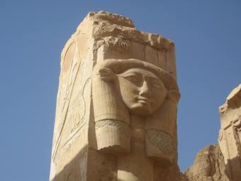 Hathor Shrine at Hatshepsut's Temple