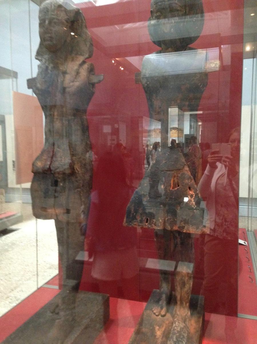 British Museum, Egyptian statues