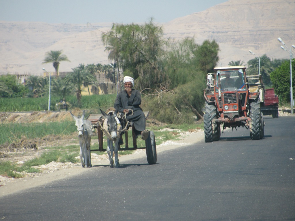 Traffic of Luxor