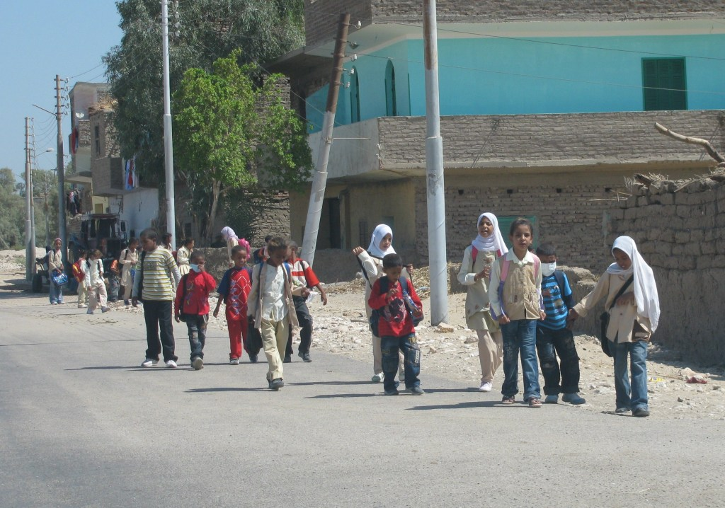Luxor children