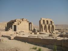 The Ramesseum Temple of Ramses II
