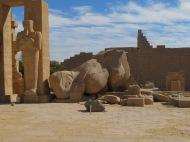 Fallen colossus, Ramesseum, near Luxor