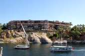 Old Cataract Hotel from Elephantine Island
