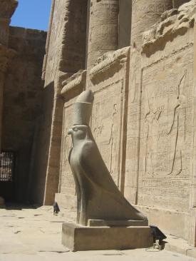 Statue of Horus, Efdu Temple