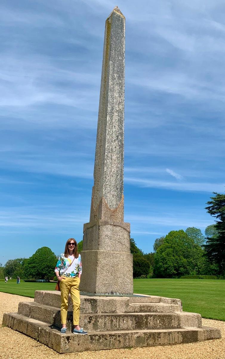 Kingston Lacy obelisk