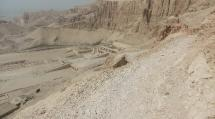 View of Hatshepsut's Temple from the Theban Hills